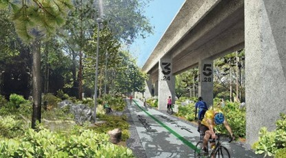 Big plans unveiled for proposed Underline path below Miami-Dade Metrorail